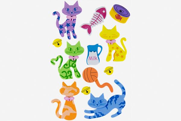 68048101-figuras-eva-adhesiva-3d-gatos