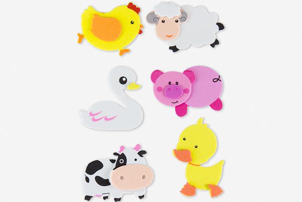 68048109-figuras-eva-adhesiva-3d-animales-granja