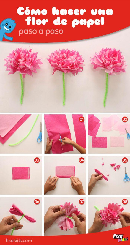 como-hacer-flores-de-papel-fixokids