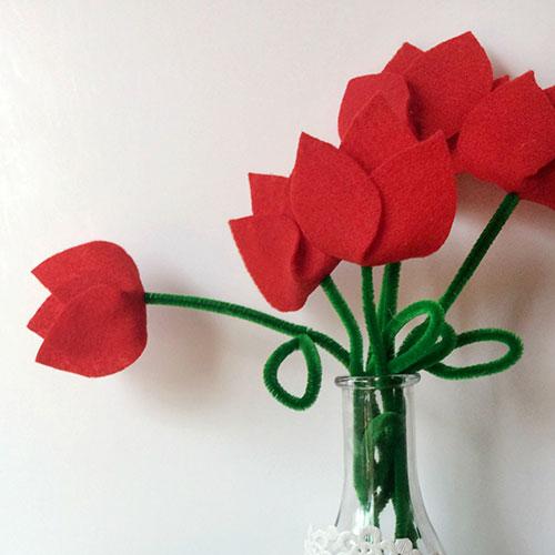 tulipanes-fieltro-facil