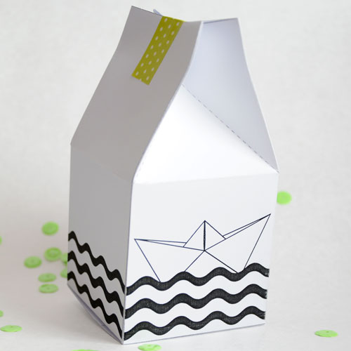 cómo hacer una caja de papel origami