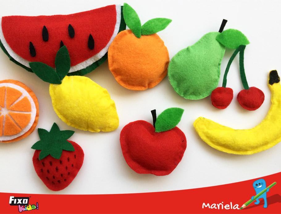 Fieltro Con Frutas Hacer De Manera FácilManualidades Fixokids Cómo W9EDIYH2