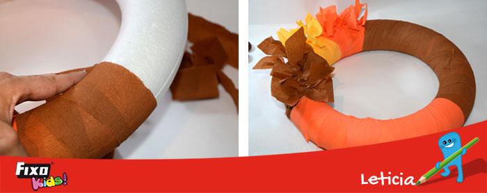 forrar-corona-otono-papel-crepe