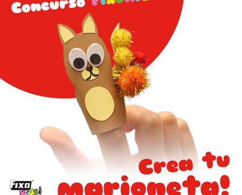 concurso fixo kids noviembre: crea tu marioneta