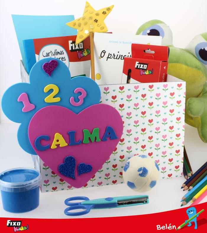 actividad para niños caja antirabietas