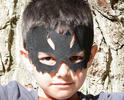 diy capa murciélago halloween