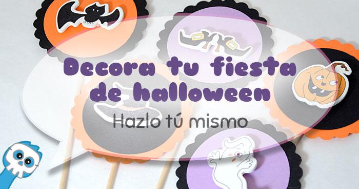 tres ideas fáciles para decorar tu fiesta de halloween