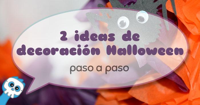 decoración halloween manaulidades
