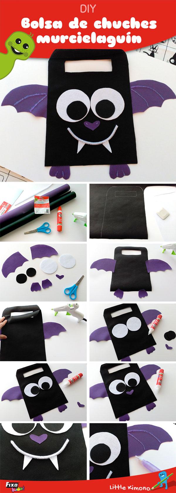 tutorial bolsa chuches murciélago