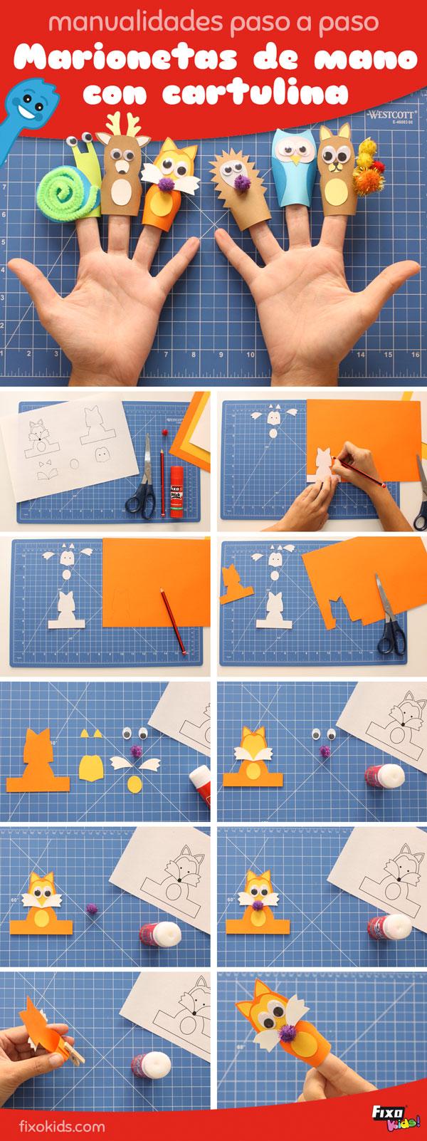 tutorial marionetas de mano