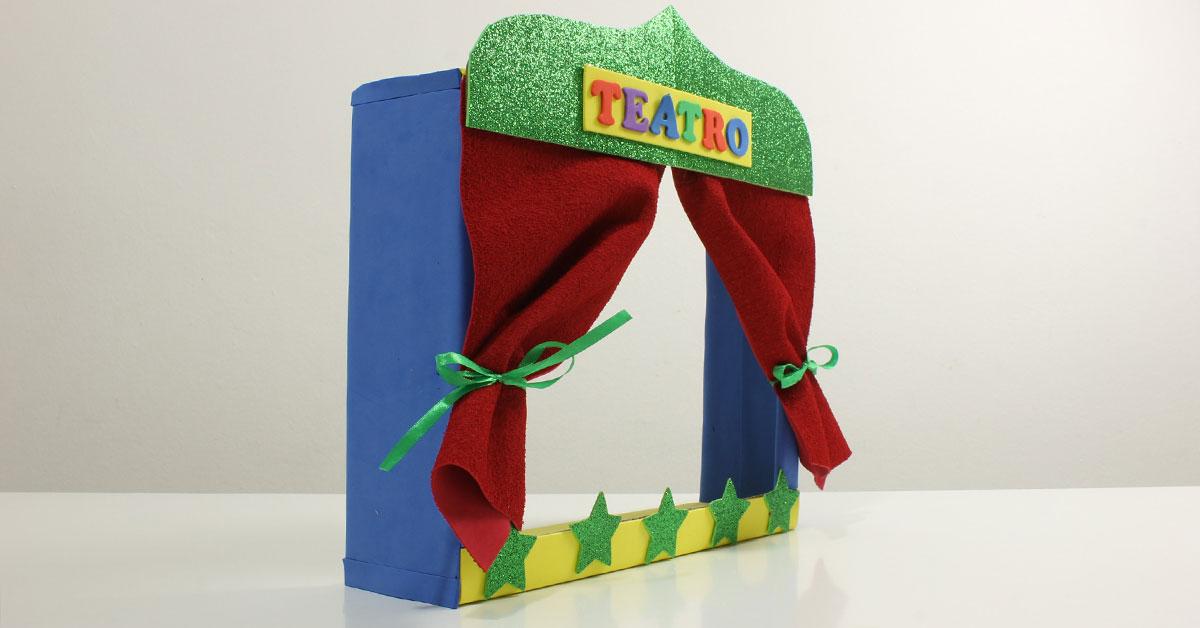 C mo hacer un teatro de marionetas con una caja de cart n for Como hacer un sobre rectangular