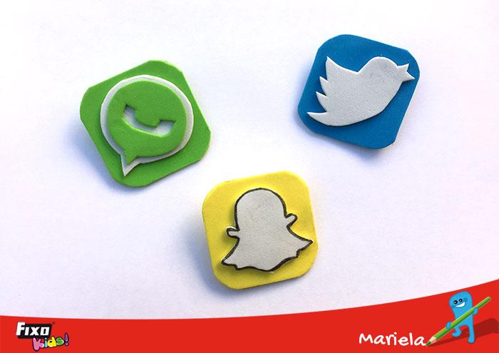 broches en forma iconos app
