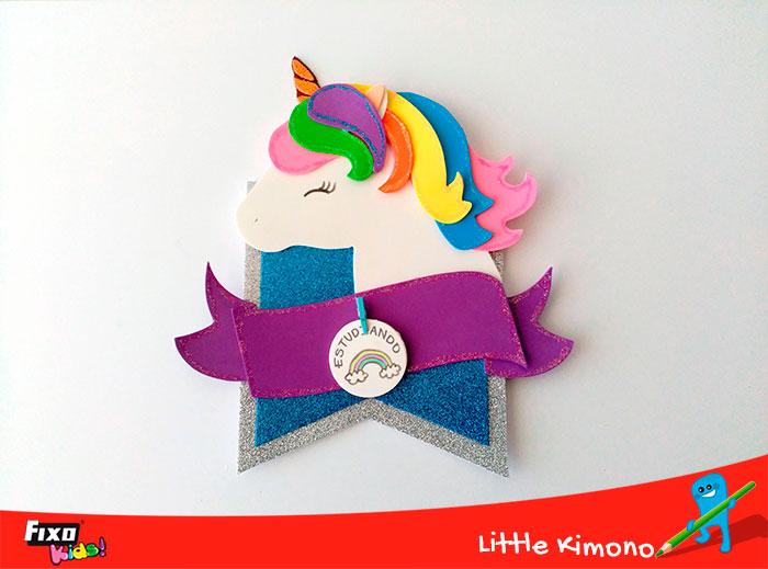 colgador de puerta unicornio
