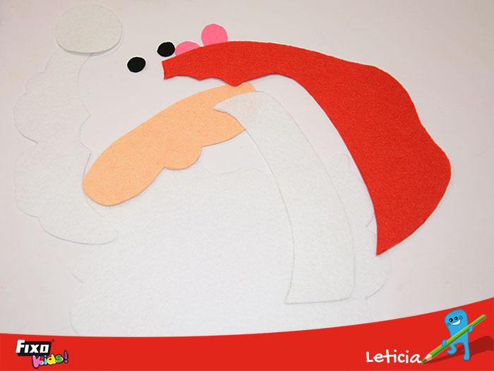 fieltro decoración navideña