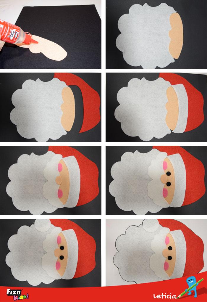 2 Ideas de decoración navideña: Papá Noel y bota de ...