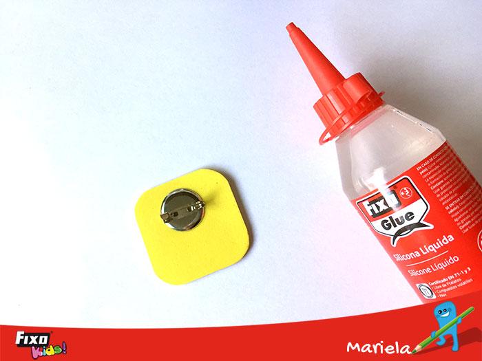 Pegar goma eva con fixo glue
