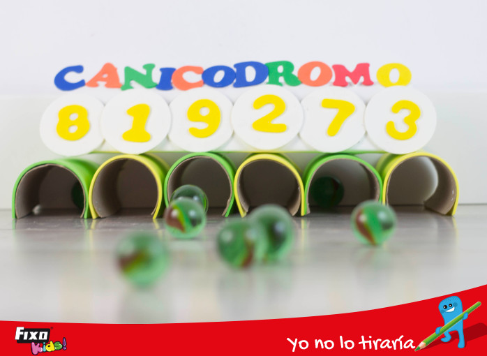 juego de canicas para niños: canicódromo