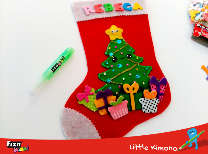 decorar con glitter glue adhesivo fixo kids