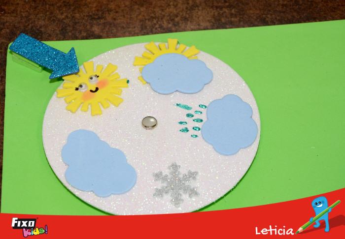 tiempo meteorológico para niños