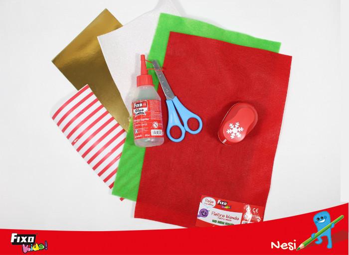 material de manualidades para envolver regalos