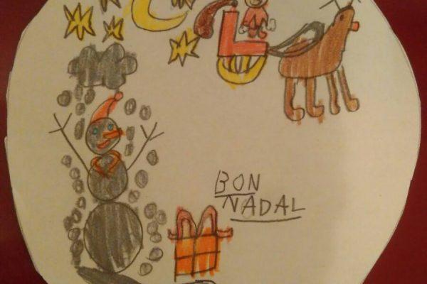 dibujo navidad fixo kids