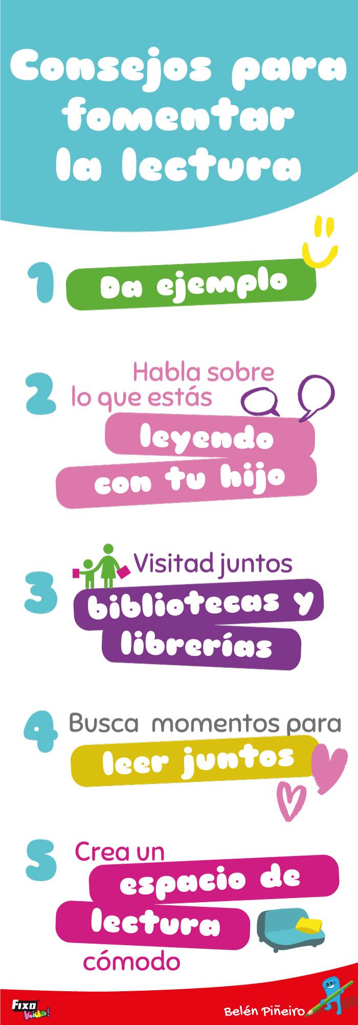 consejos para fomentar la lectura en niños