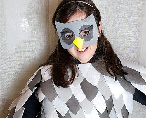 cómo hacer un disfraz de carnaval sin coser