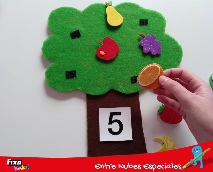 jugar a contar o adivinar el número