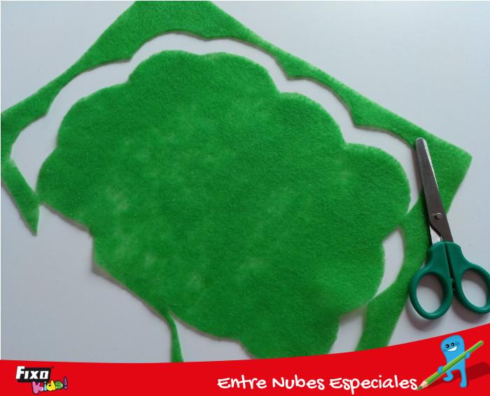 recortar nube verde para copa de árbol