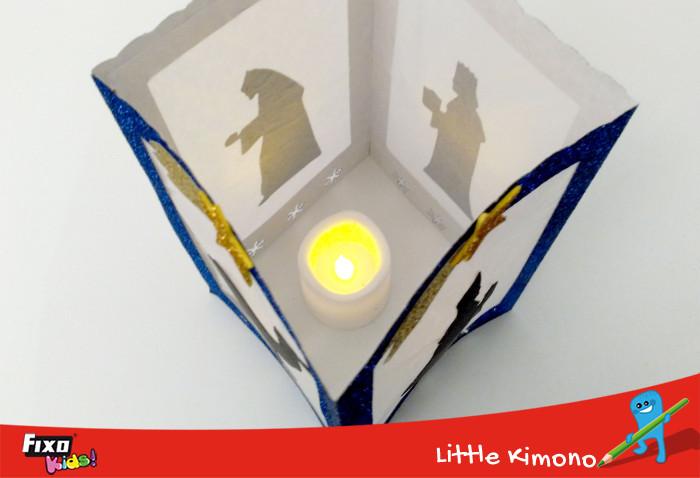 vela artificial para farolillo