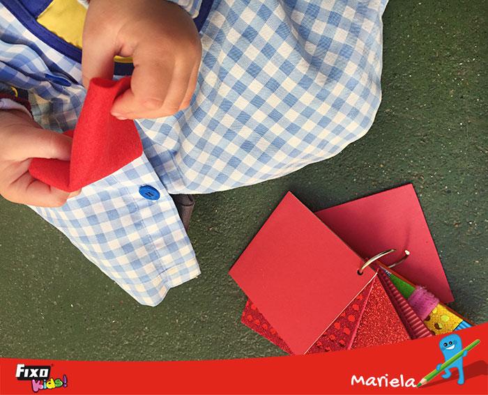 actividades para niños libros de texturas