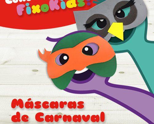 Concurso infantil máscaras de carnaval