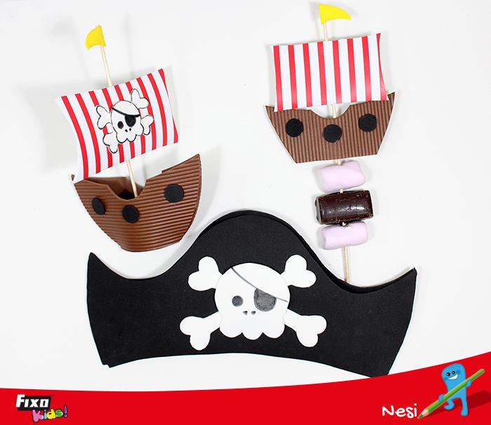 fiesta infantil tema piratas
