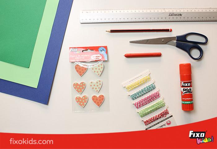 material para hacer un organizador de escritorio