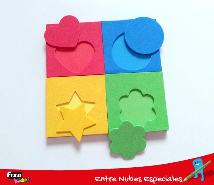 cómo hacer un puzle para niños para mejorar razonamiento lógico