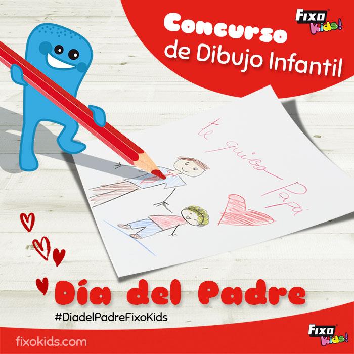 concurso dibujo infantil día del padre