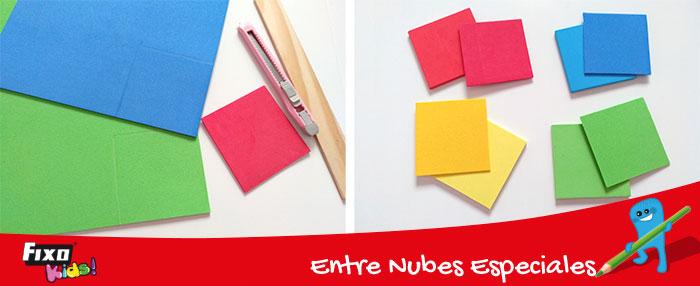 cuadrados foamy para hacer rompecabezas infantiles
