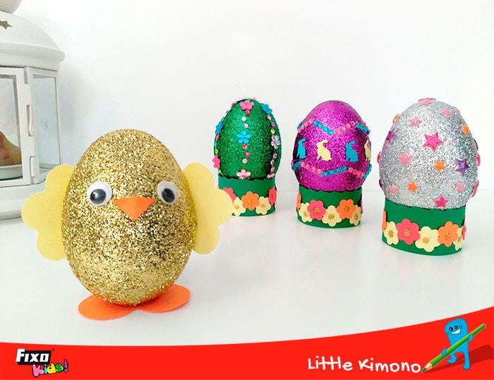 maneras fáciles de decorar huevos para pascua
