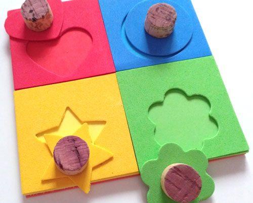 puzle con goma eva