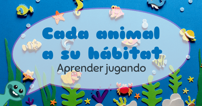 aprender los animales marinos
