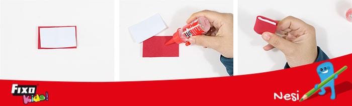 cómo hacer un mini libro con goma eva