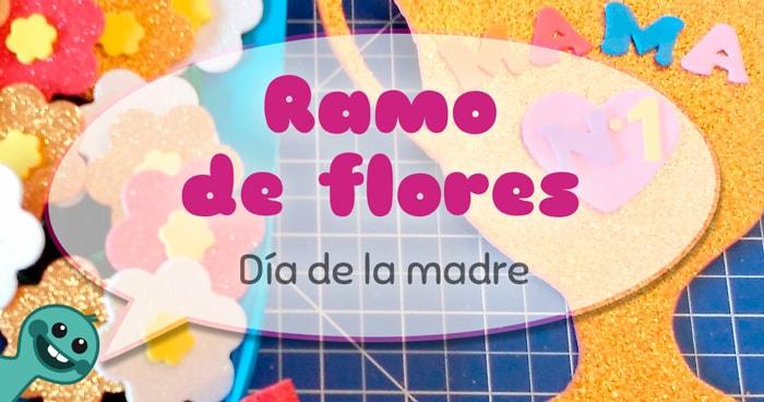 cómo hacer un ramo de flores para el Día de la Madre