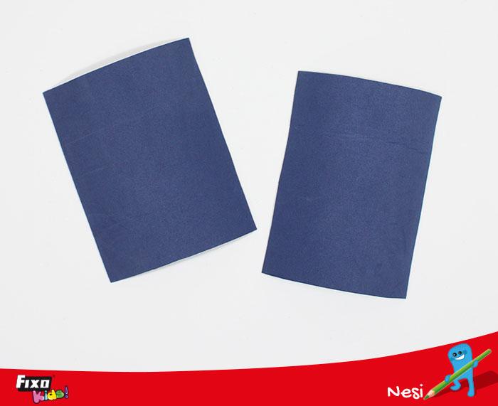 goma EVA azul 2 mm ropa fofuchas