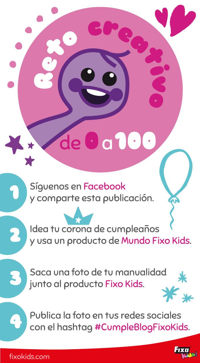 cómo participar en el cumpleblog de fixo kids