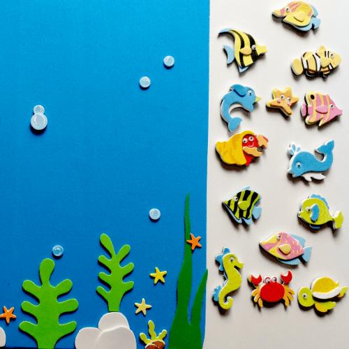 jugamos con los animales marinos