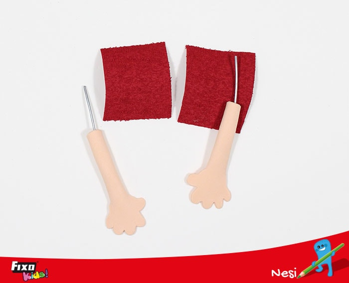 mangas camisa fofucha foam toalla