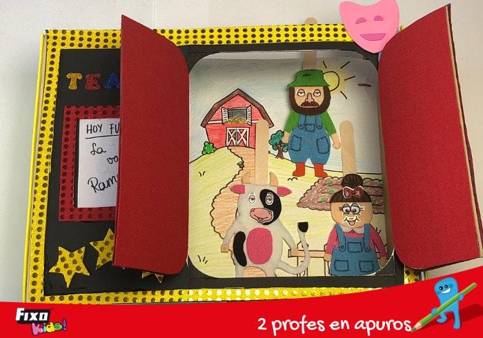 teatro marionetas para aprendrer a contar historias