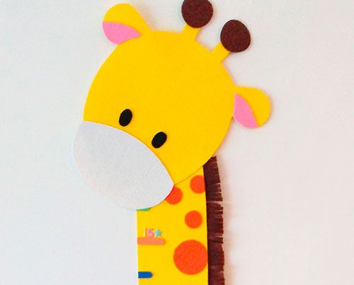 jirafa medidora