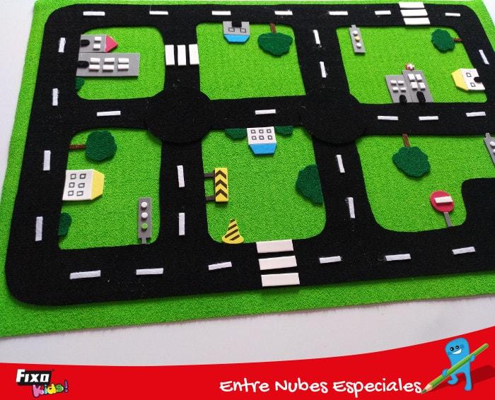 carretera sensorail juego para educación vial para niños