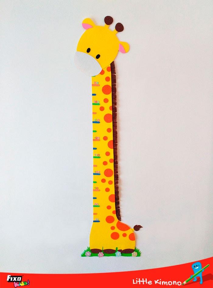 jirafa medidora foamy curiosidades